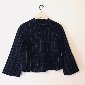 Madewell Dark Navy Blouse